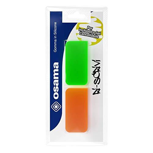 Osama - RISCRIVI GOMMA in silicone per inchiostro - 2 pezzi