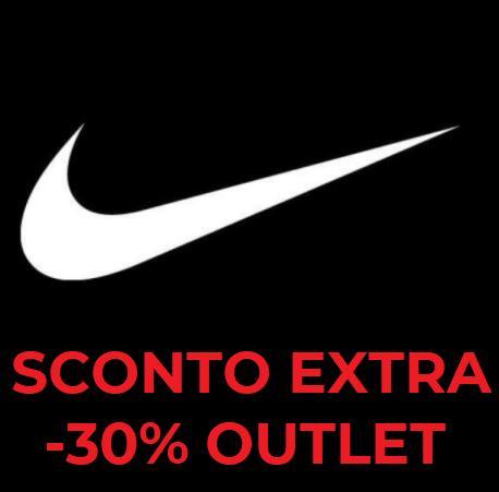 30% EXTRA di Sconto su Outlet Nike