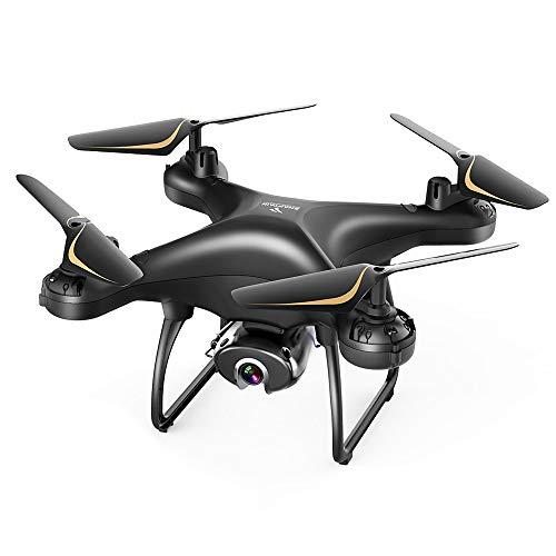SNAPTAIN SP650 1080P Drone con Telecamera FHD, Controllo Vocale, Controllo dei Gesti, Volo Circolare, Rotazione ad Alta velocità