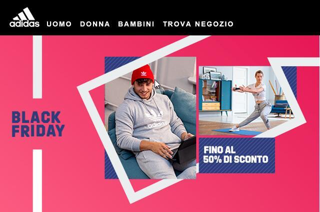 Adidas - Fino al 50% di sconto