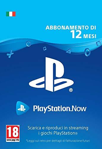 PlayStation Now - Abbonamento 12 Mesi