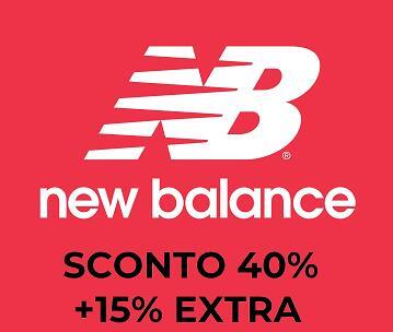 New Balance Fino al 40% di Sconti e Invio Gratis