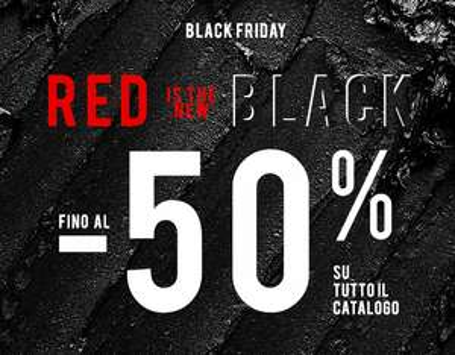 Black Friday Pupa - sconti fino al 50%