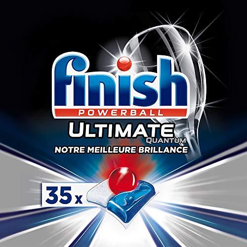 Finish Ultimate Quantum Detergente per Lavastoviglie - 35 Pastiglie