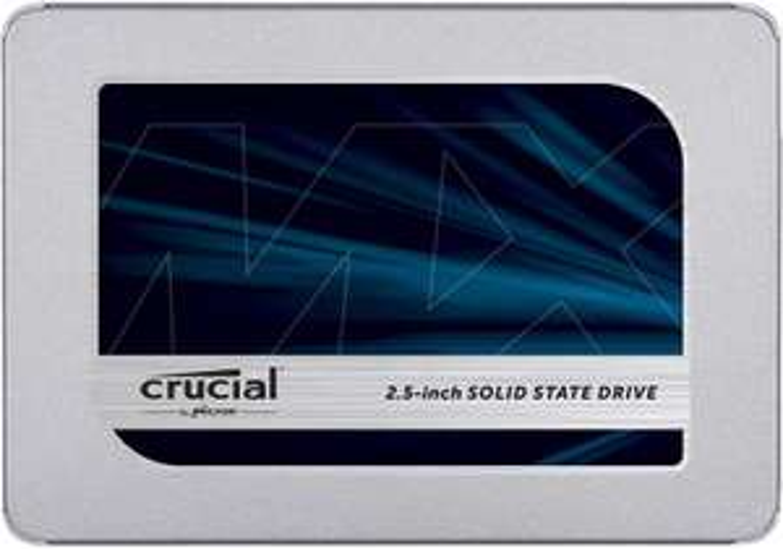 SSD 500GB Crucial MX500 52.9€