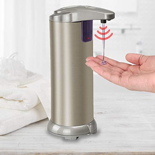 Dispenser Sapone Automatico 280ML - Acciaio Inox