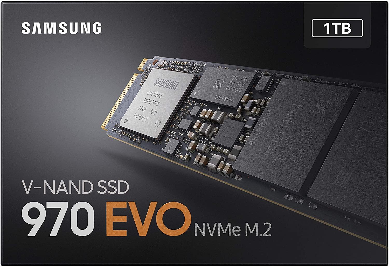M.2 SSD Samsung 1TB 970 EVO 109€