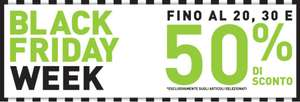 Footlocker - Black Friday Week fino al 50% di sconto