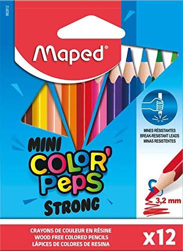 Maped Confezione da 12 matite piccole