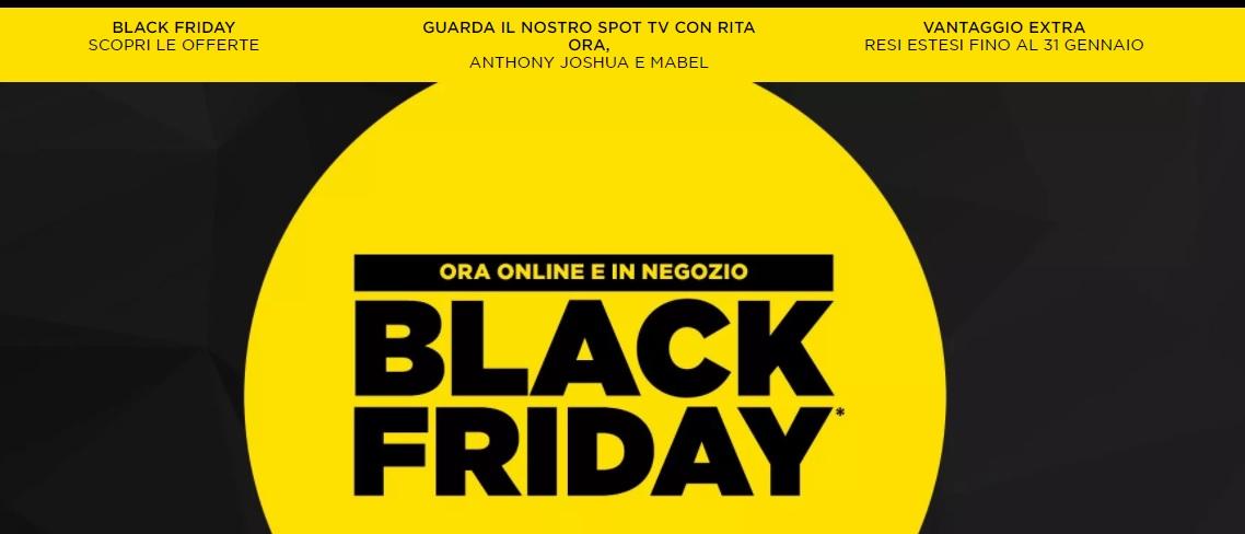 Il Black Friday da JD è iniziato!! Fino al 50%
