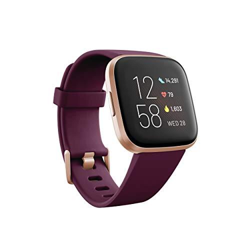 Fitbit Versa 2 Smartwatch per Benessere e Forma Fisica con Controllo Vocale, Punteggio del Sonno e Musica, con Alexa Integrata