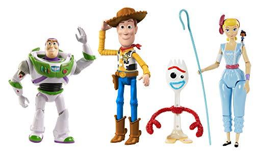 Toy Story- Pixar Confezione da 4 Personaggi
