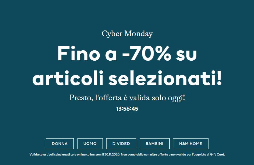 H&M Cyber Monday