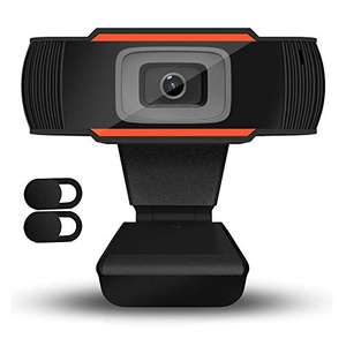 QueenDer Webcam con Microfono 720P HD