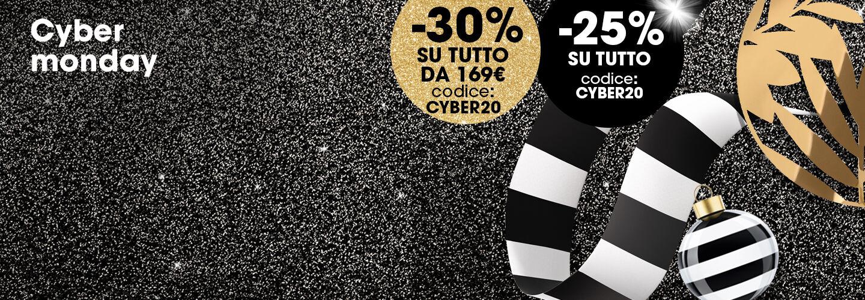 Sephora - Cyber Monday con 25 e 30% di sconto