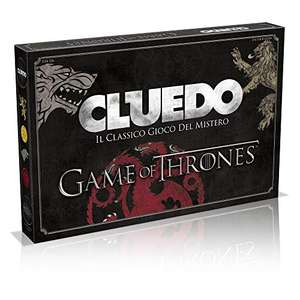 Winning Moves Trono di Spade Cluedo Game of Thrones,