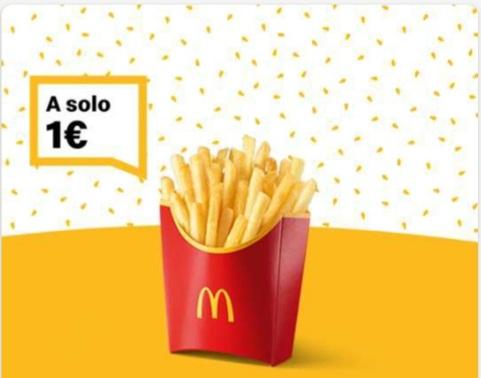McDonald's PATATINE GRANDI 1€