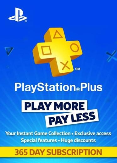 PlayStation Plus - Abbonamento 1 anno