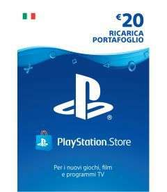 Card prepagata Playstation psn - 20 euro