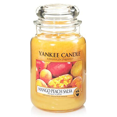 Yankee Candle in giara grande   Profumo Salsa di mango alla pesca