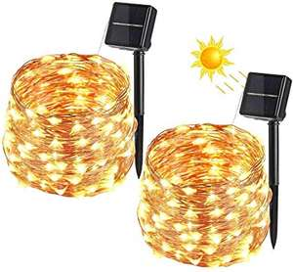 2 X 10m luci solari 15.9€