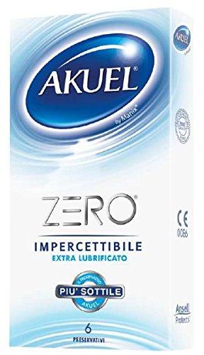 6x Preservativi Akuel ZERO