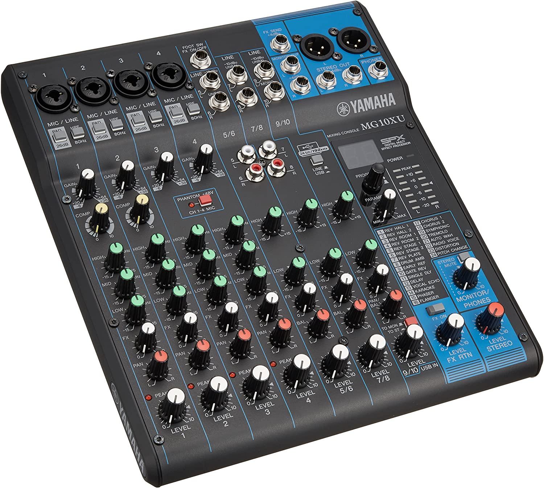 Yamaha Mg10Xu Mixer Audio Professionale