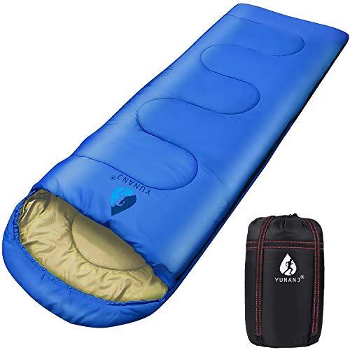 Sacco a pelo da campeggio, 2 kg, ultraleggero, per adulti e bambini