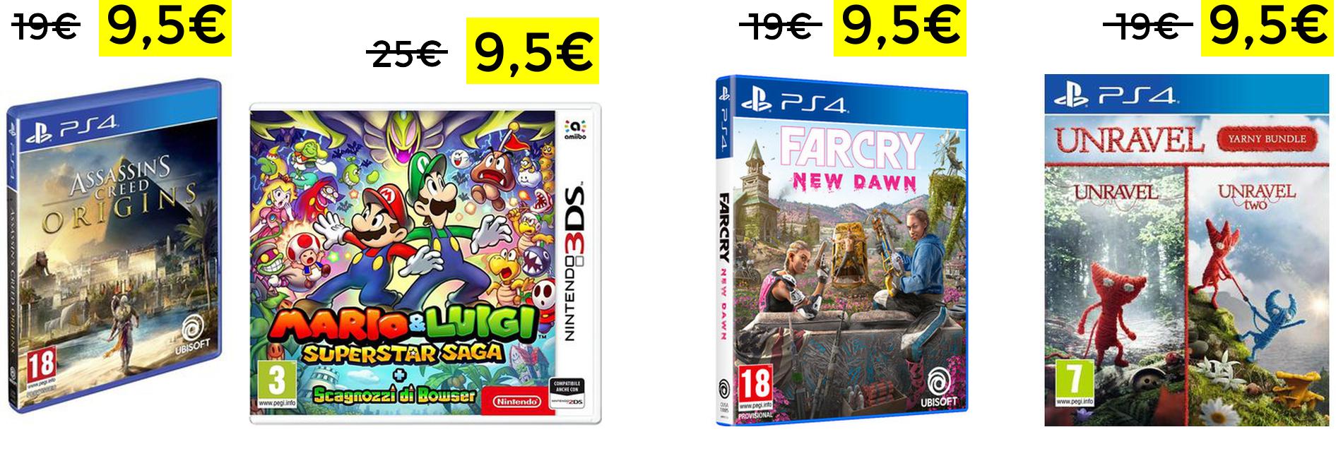 Mario & Luigi Superstar 3DS PS4 9,5€