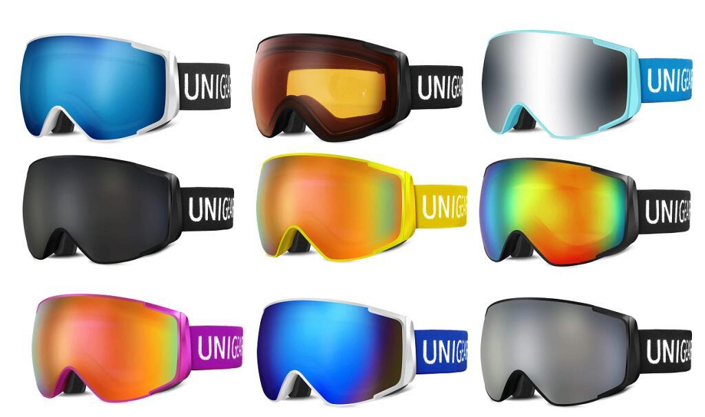 Maschera da Sci Protezione UV400 Vari Colori