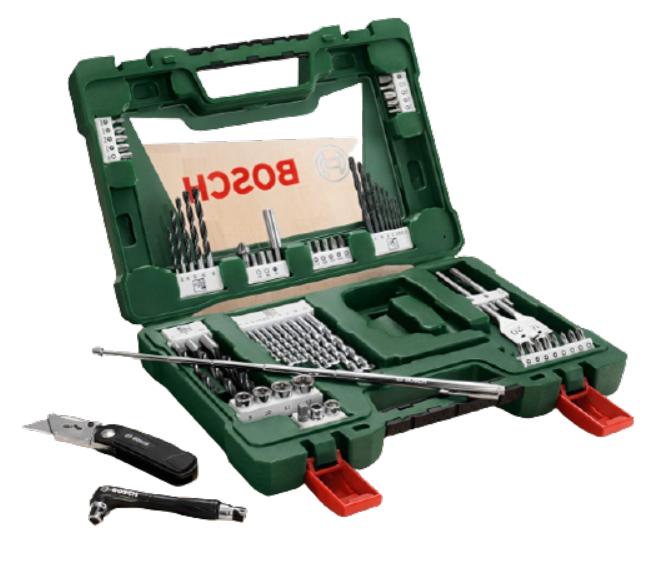 Set Bosch X68 Pezzi 24.9€