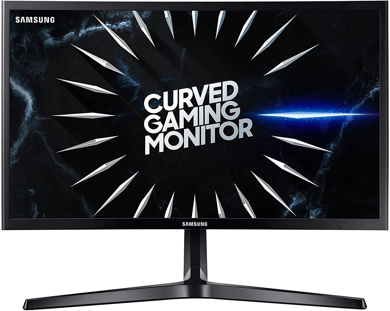 Samsung - Monitor Gaming Curvo da 24 pollici, Full HD,1800R, 144 Hz - C24RG52FQU