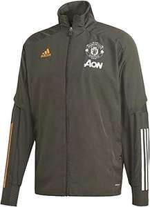 Adidas Giacca con Zip Manchester United Official Uomo