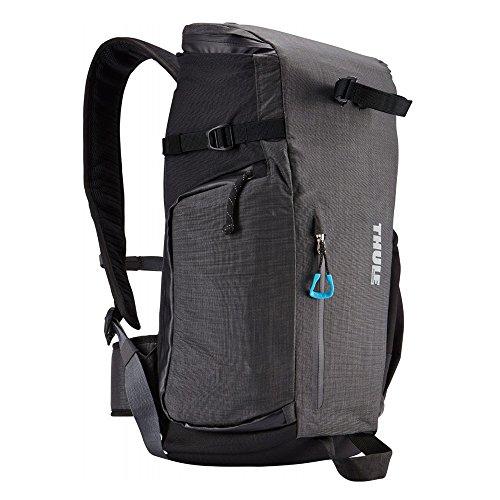 Daypack - Zaino in nylon per fotocamera Reflex con 1/2 obiettivi, in nylon, colore: Nero
