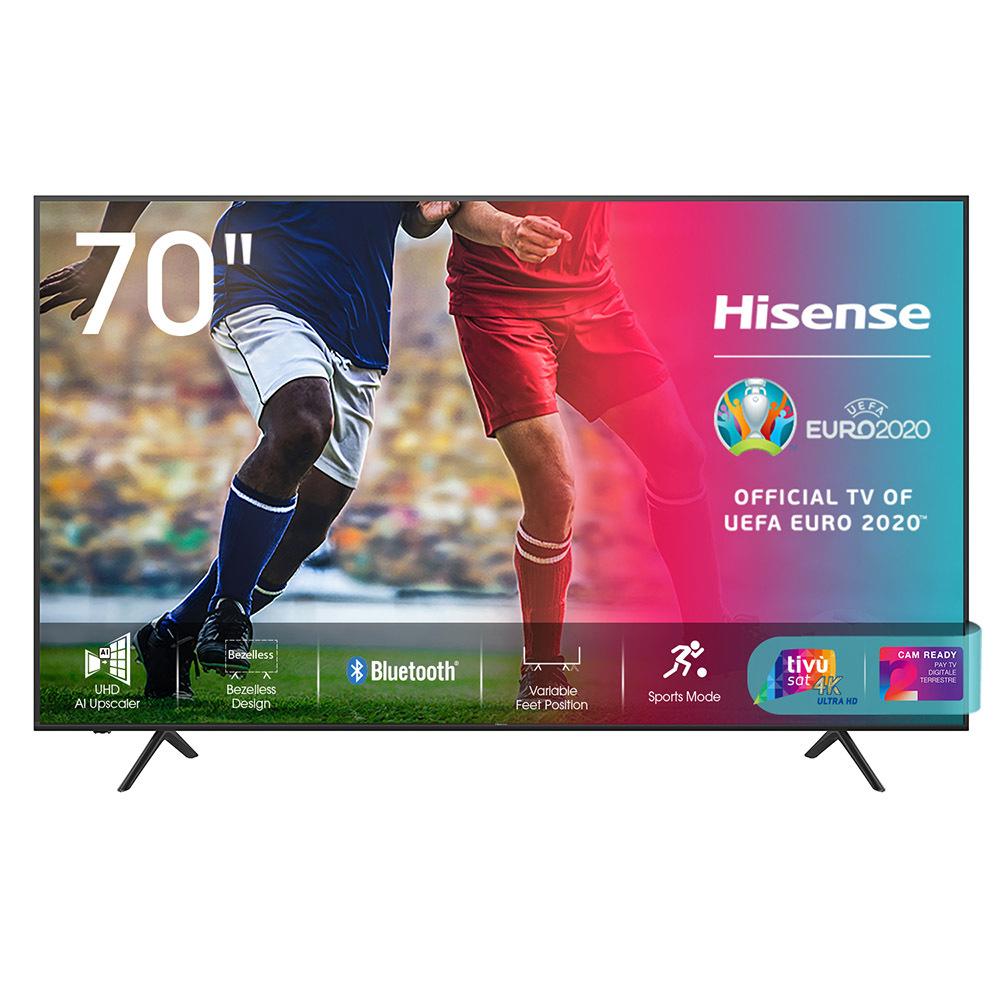 """Smart TV Hisense 70"""" 4K UHD 549€"""