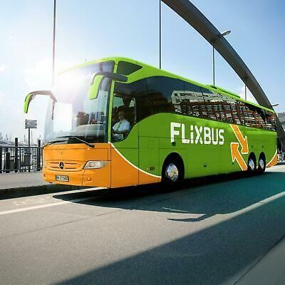 Voucher di sola andata per viaggiare con FlixBus in tutta Europa a € 9,99
