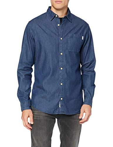 JACK & JONES Camicia di Jeans da uomo