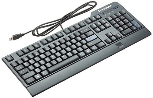 Lenovo Tastiera Usb Business Black layout US e rilevatore di impronta