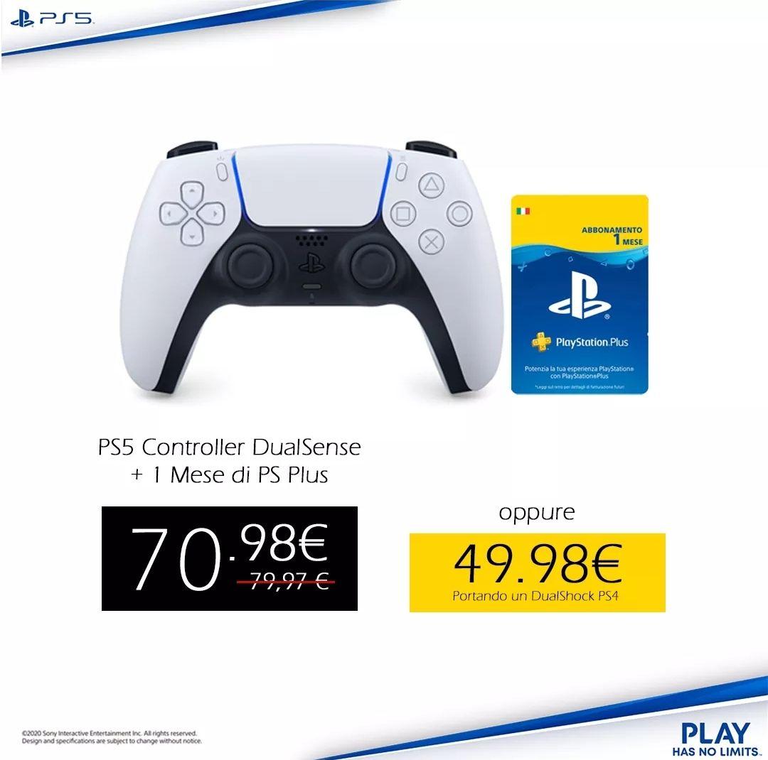 Sony Dual Sense + PlayStation Plus