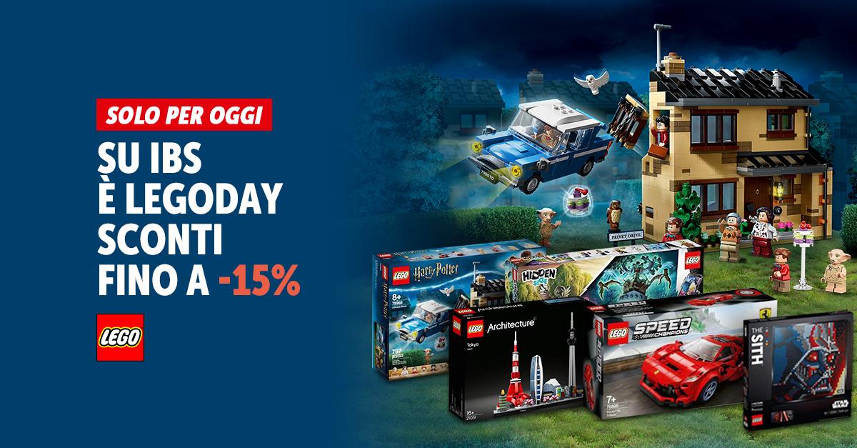 LEGO DAYS - SOLO 13 E 14 GENNAIO SCONTI FINO A -15%
