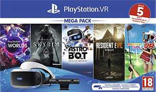 PS VR + 5 GIOCHI