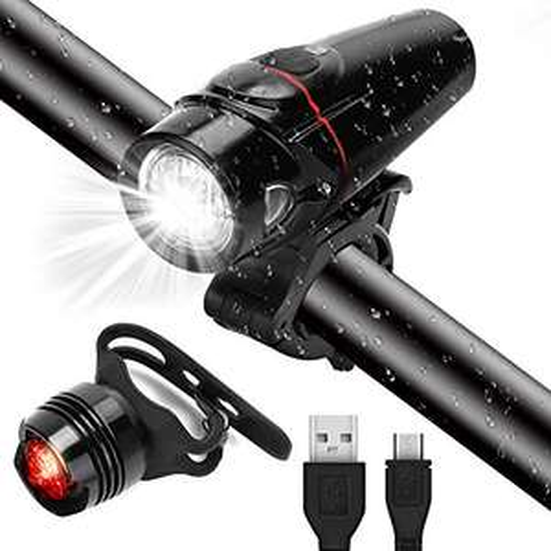Luce per Bici LED 350 lumen - USB