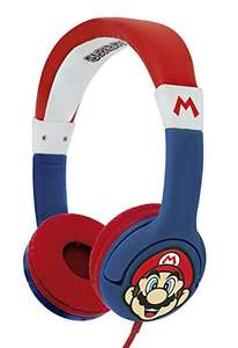 Super Mario Cuffie con filo per bambini