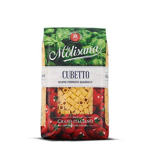 La Molisana, Cubetto Pasta Corta, SOLO Grano Italiano - 500g