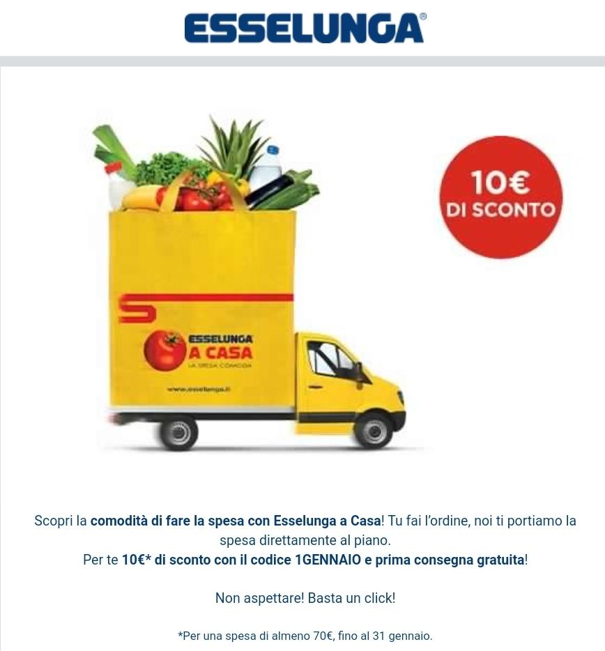 Sconto 10€ Esselunga