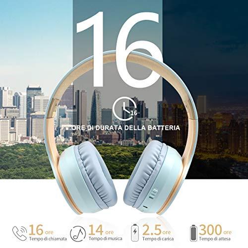 Cuffie Cablata & Wireless 16ore