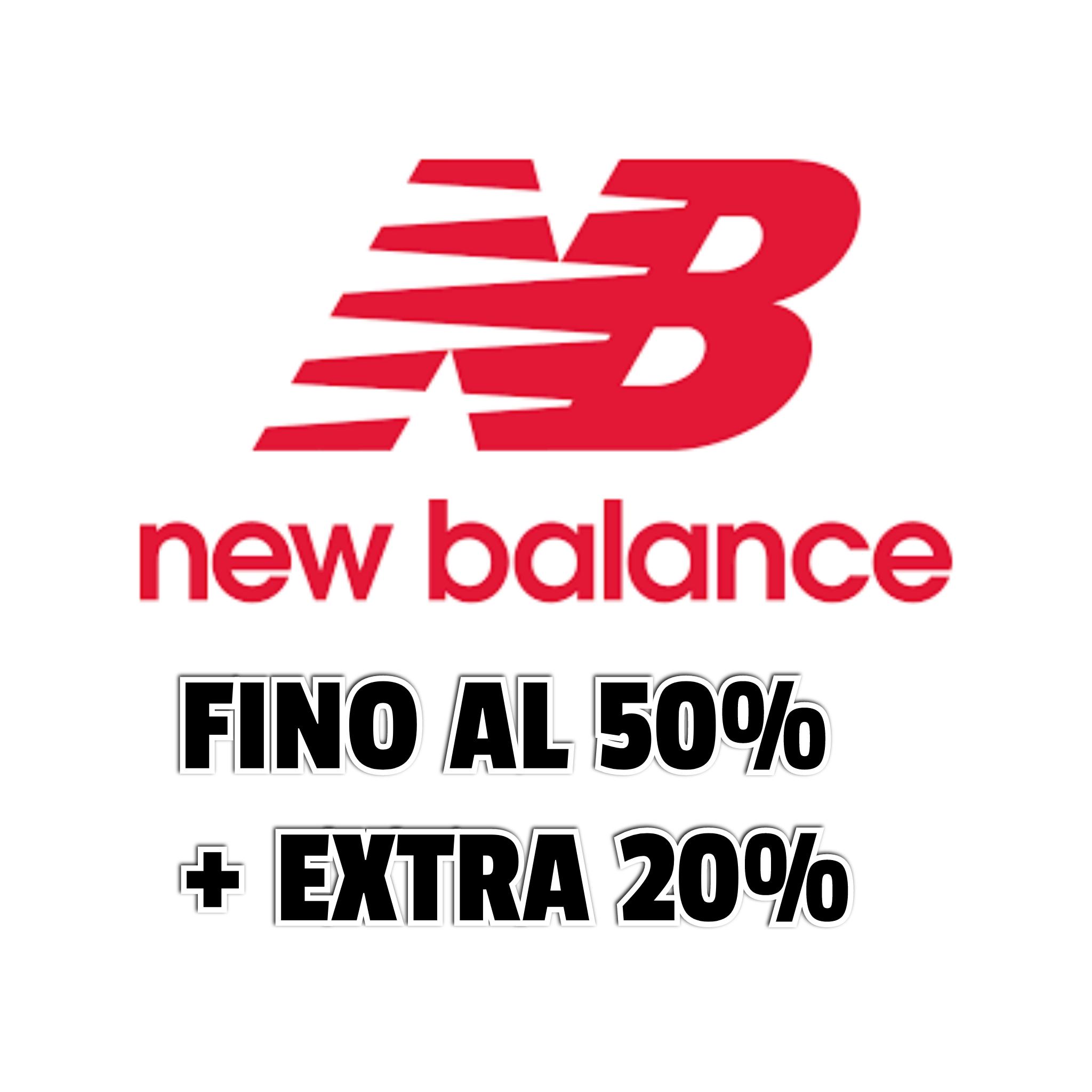 New Balance sconto Extra Saldi 20%