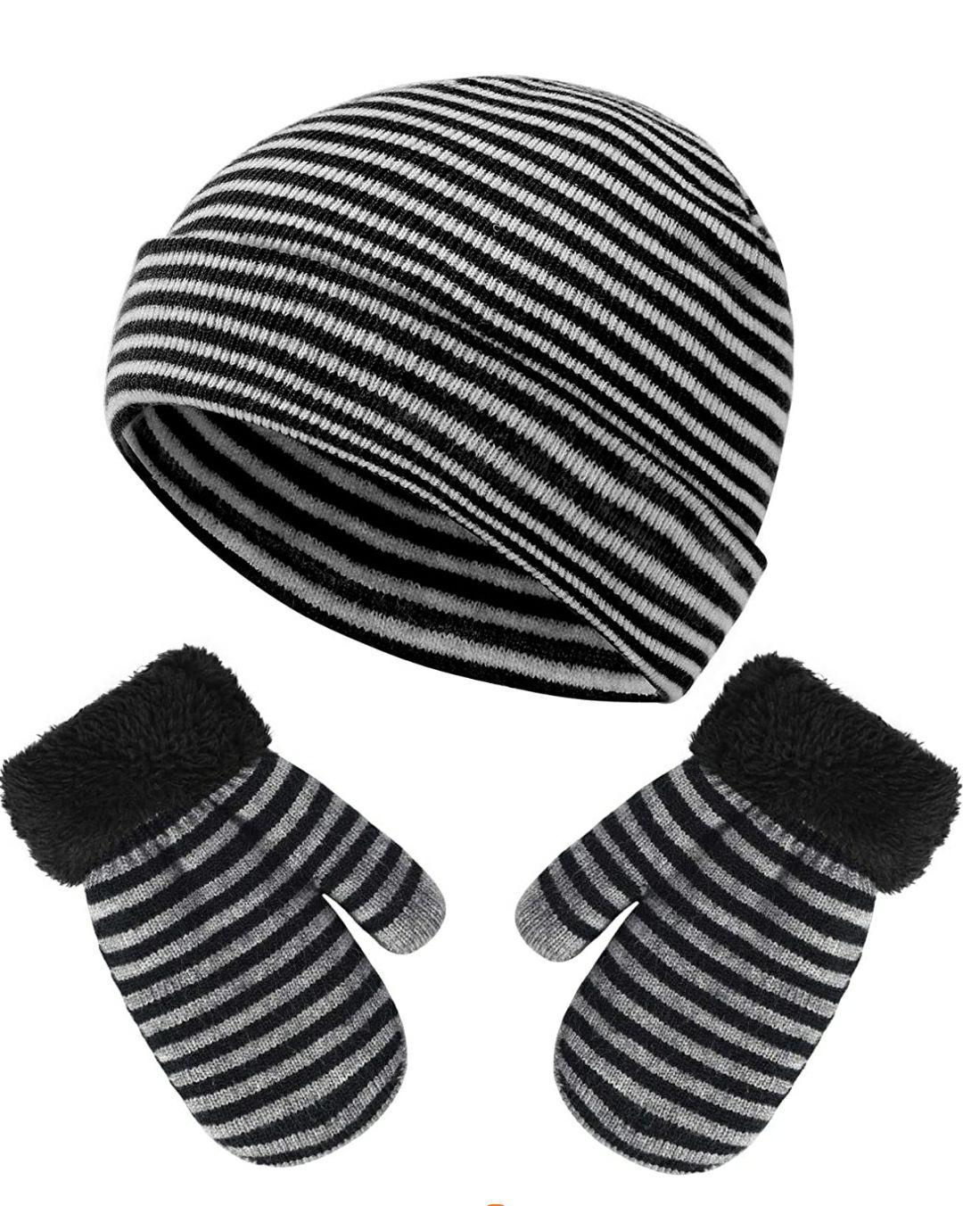 Vbiger Set di guanti invernali per bambini