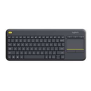 Logitech K400 Plus Tastiera Wireless Layout Francese