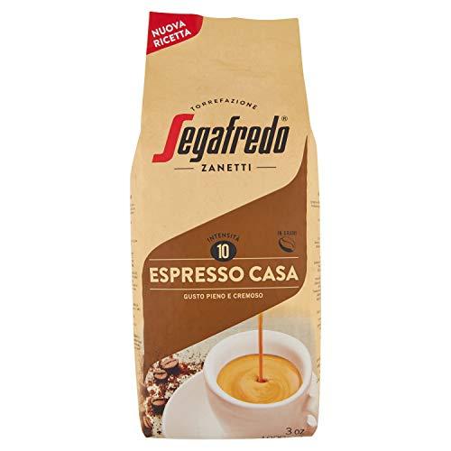 Segafredo Zanetti Caffè in Grani, Linea Le Classiche Gusto Espresso Casa, Gusto Pieno e Cremoso, 1 Confezione da 1 kg